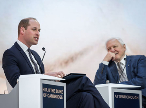 Le prince William au Forum économique mondial de Davos 2019