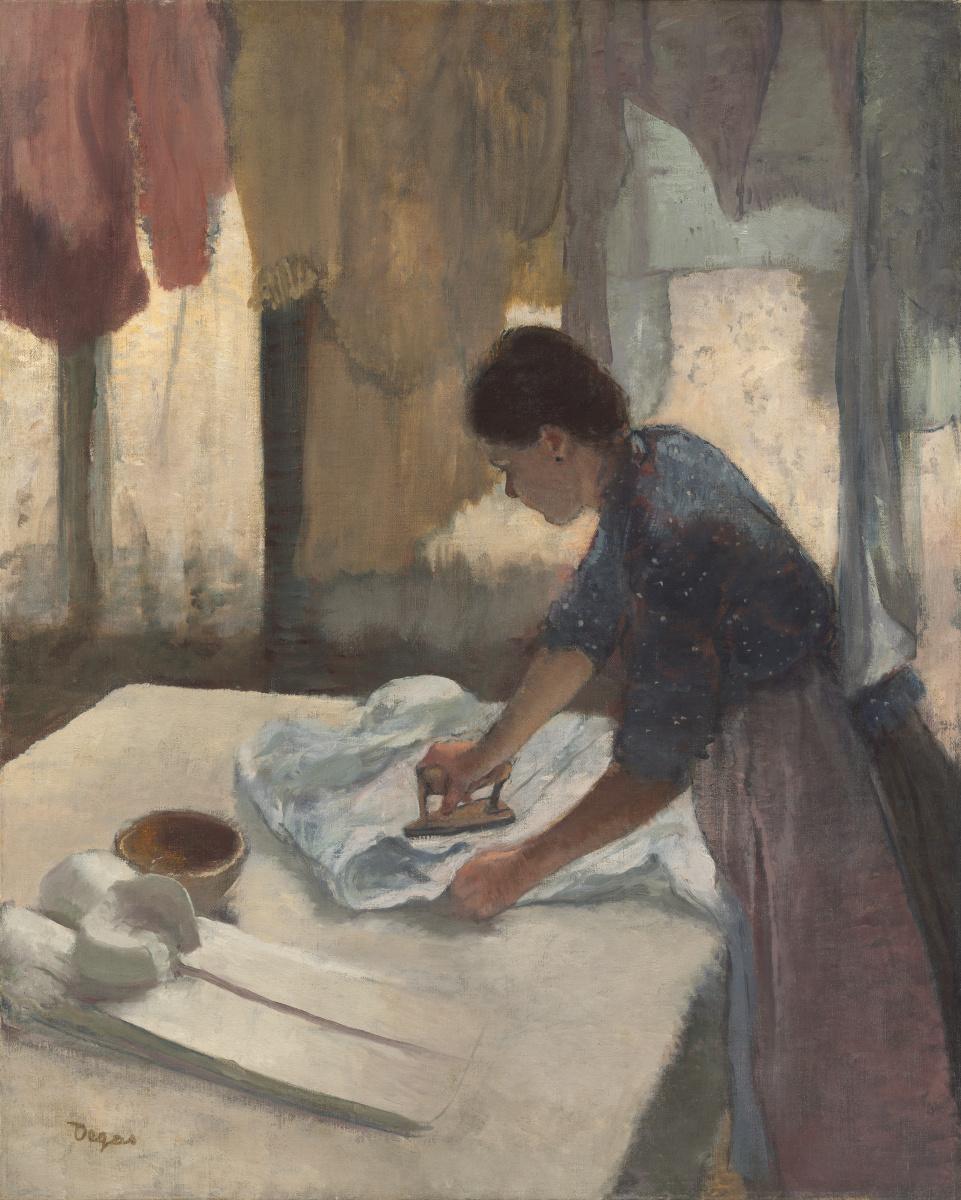 Edgar Degas. Repasseuse