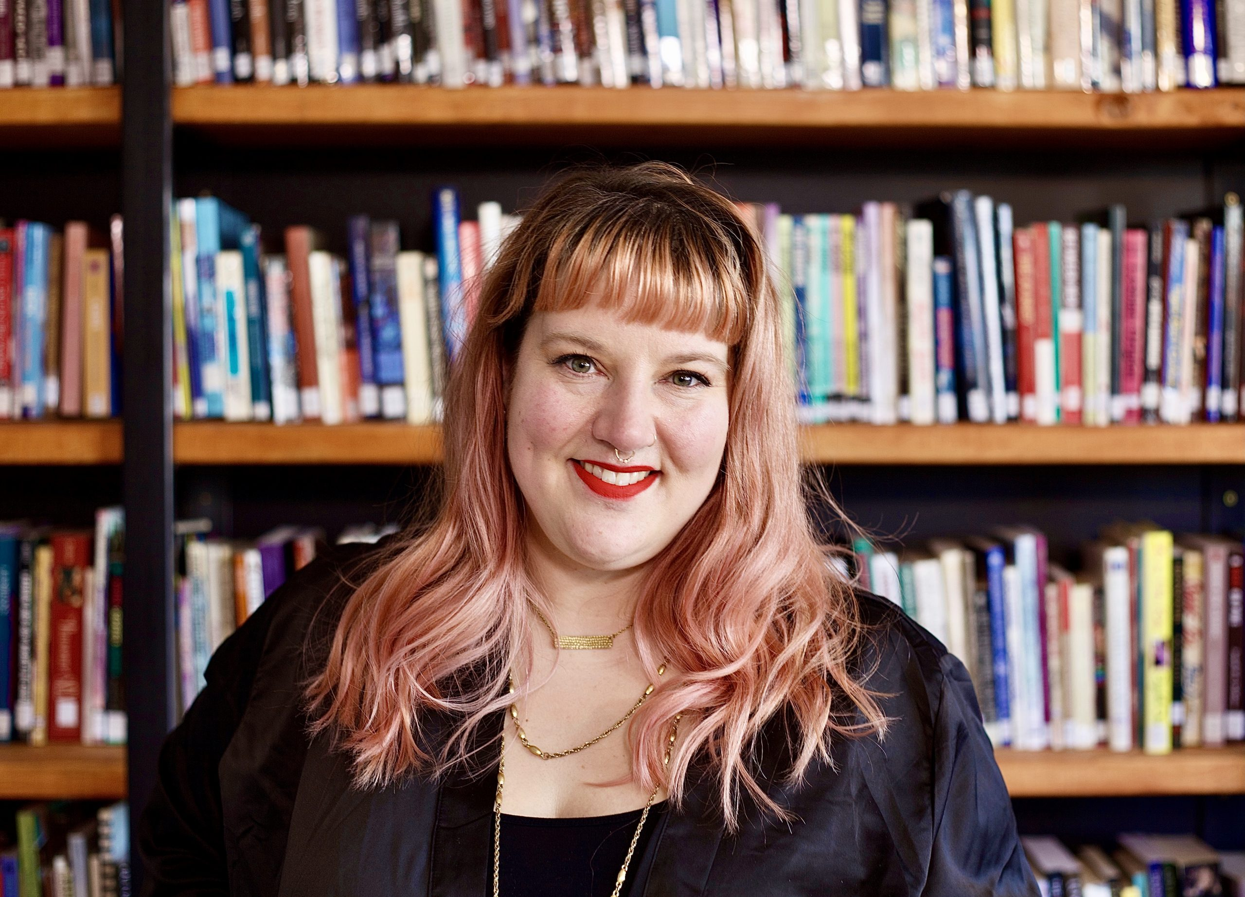 Heather Hale representative for Saskatoon Sexual Health, RBC KnockOUT award recipient