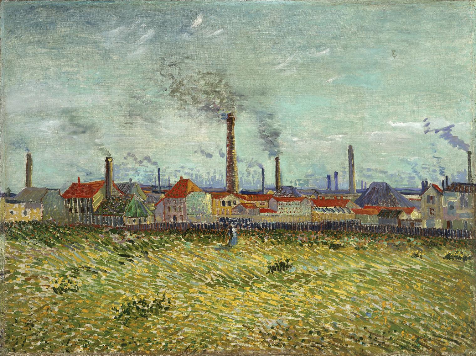 Vincent van Gogh, Usines de Clichy